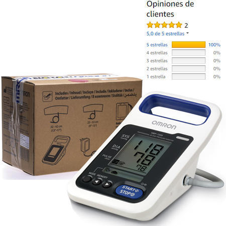 Caja Omron HBP 1300